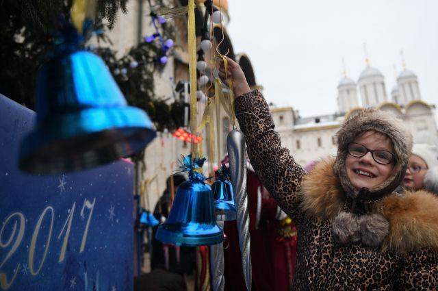 Главную новогоднюю ёлку Российской Федерации демонтируют всередине января