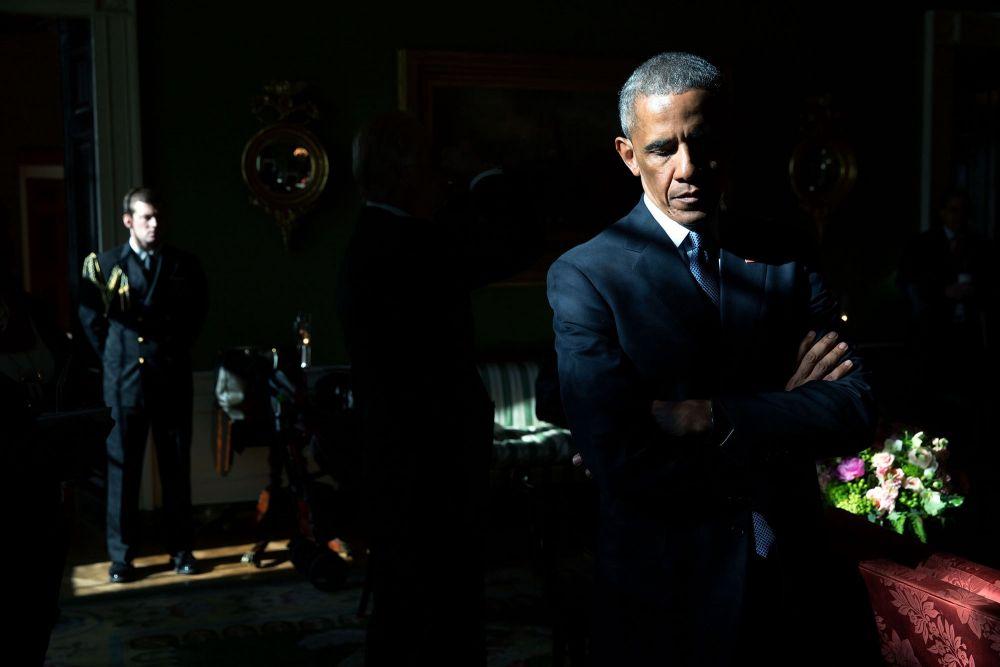 Серьезное фото Барака Обамы