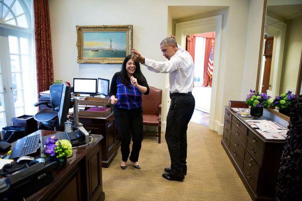 Иногда Обама любит поразвлечься