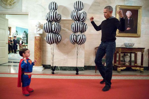 В резиденции Белого Дома очень часто в гостях у президента можно увидеть детей