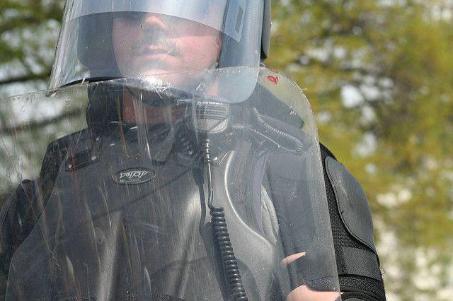 В Аризоне полиция час преследовала голую угонщицу машины шерифа