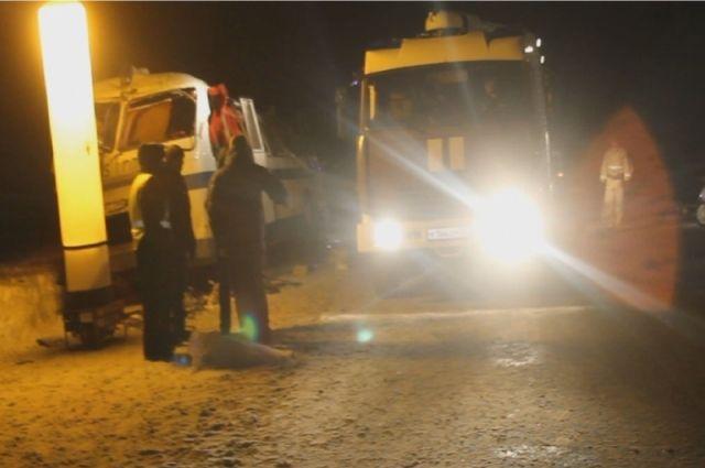 ВАлтайском крае оказывают помощь пострадавшим вДТП наЧуйском тракте