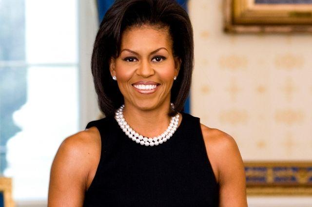 Мишель Обама выступила вБелом доме спрощальной речью