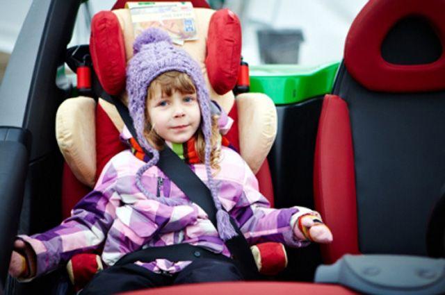 Ребёнок-пассажир должен себя чувствовать в полной безопасности.