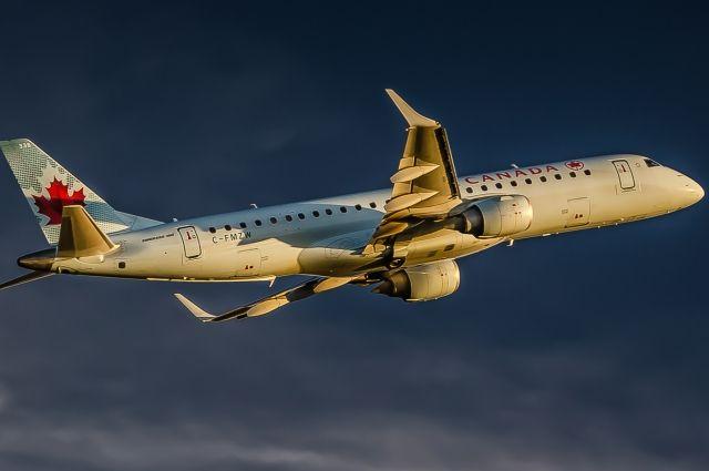 Из-за неисправности вКанаде экстренно сел самолет Air Canada