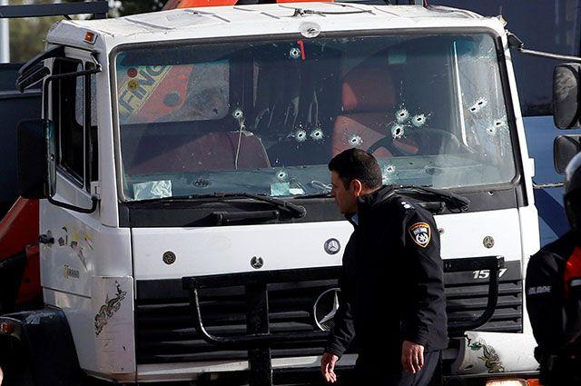 Поподозрению впричастности ктеракту вИерусалиме задержаны 9 человек