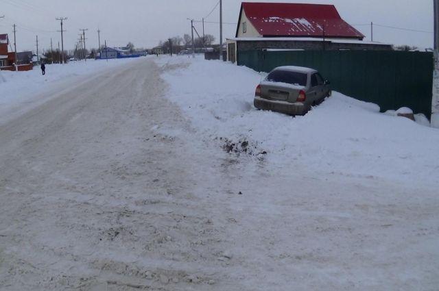 Шофёр «Хендая» сбил 9-летнего ребенка — ДТП под Оренбургом