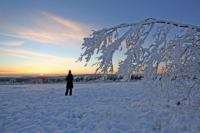 Вначале рабочей недели вСмоленской области обещают до32 градусов мороза