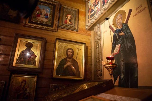 Губернатор Кузбасса принял участие в рождественском богослужении.