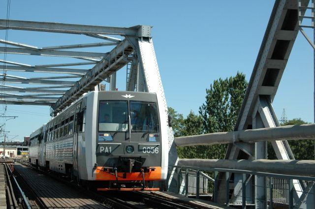 С 9 января рельсобусы возобновили движение на маршрутах по Калининграду.