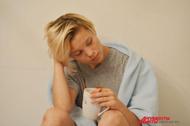 После праздников люди часто впадают в депрессию.