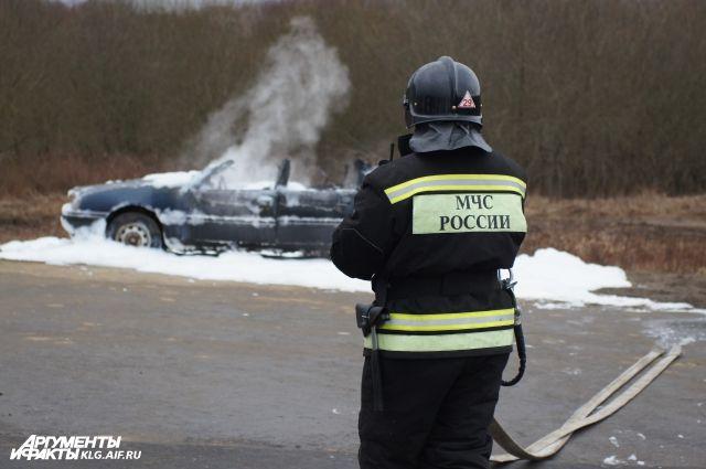 МЧС подсчитало количество происшествий в новогодние каникулы в Калининграде.