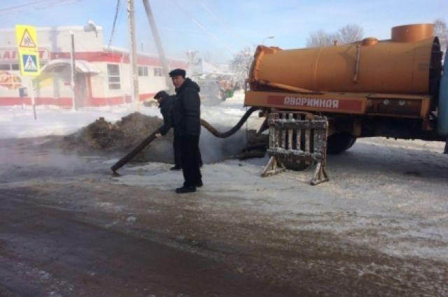Очевидец: Улица Васенко перекрыта из-за коммунальной трагедии