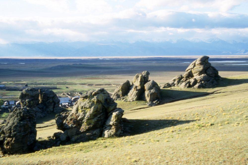 В Баргузинской долине.