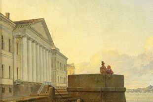 Фрагмент одной из самых известных картин мастера.