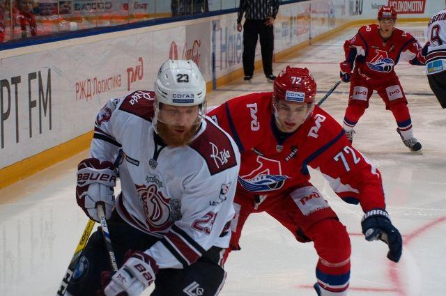 08:46 0 1  Локомотив одержал волевую победу над рижским ДинамоВстреча завершилась со счетом 3:1