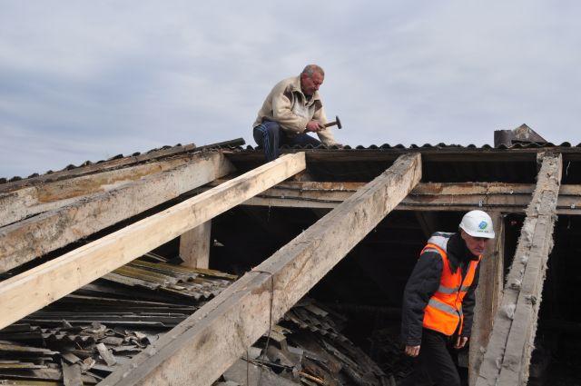 ВПриморье починили сотни квадратных метров жилья после тайфуна «Лайонрок»