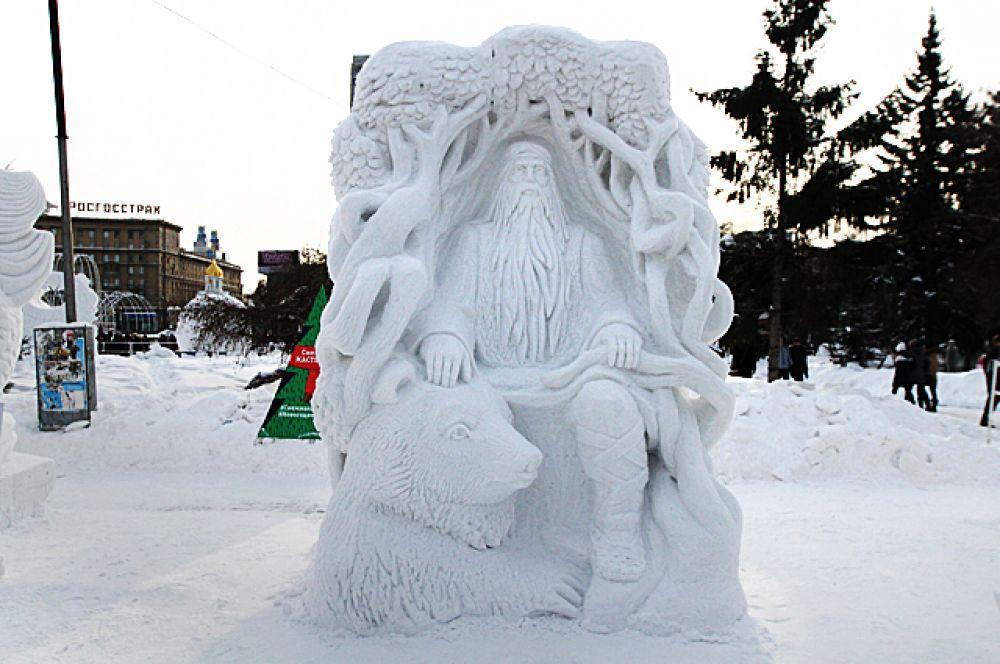 А эта фантазийная работа братских мастеров «Велес» завоевала гран-при фестиваля и Кубок мэра Новосибирска