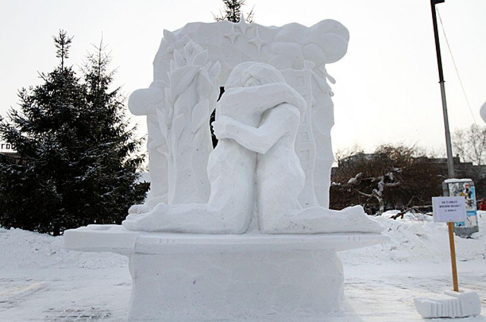 Многие скульпторы подняли в своих работах действительно важный вопрос: возможен ли прогресс без ущерба окружающему миру?