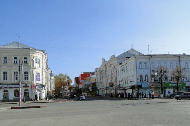 Часть улицы Карла Маркса стала Дворцовой