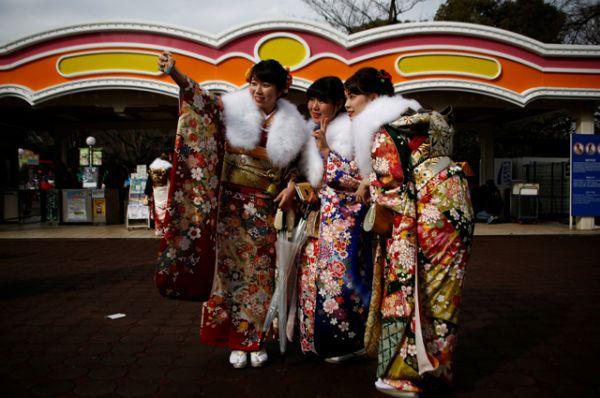 День совершеннолетия в Японии.