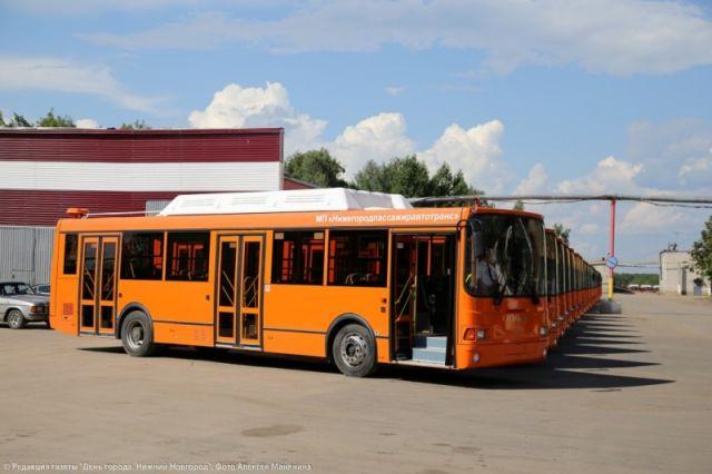 ВНижнем Новгороде напокупку 50 оранжевых автобусов выделили 387,8 млн.