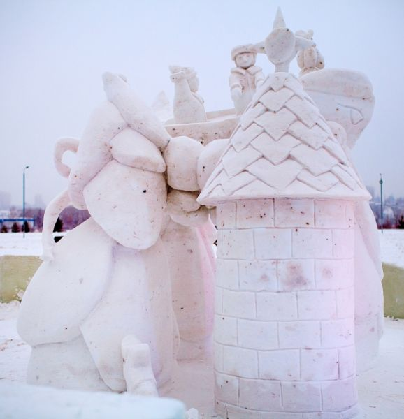 «Наши на Урале» команды «Navianele» заняла 3 место в номинации «Снег».