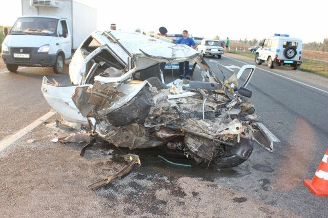 За10 дней 2017 года наКубани вДТП погибло 19 человек