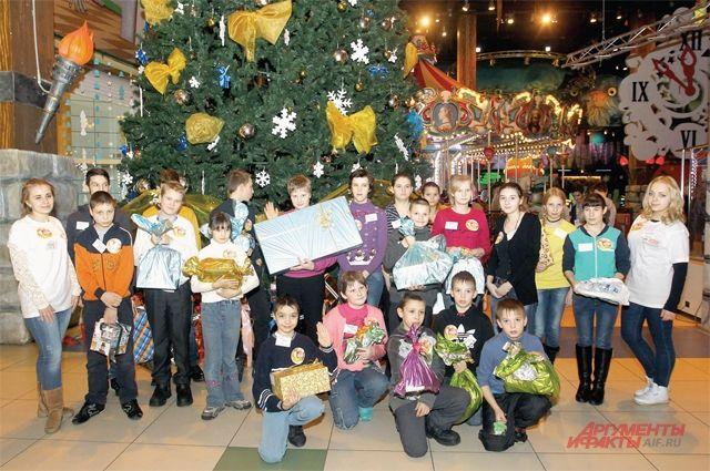 Эта поездка в Москву для детей - событие года.