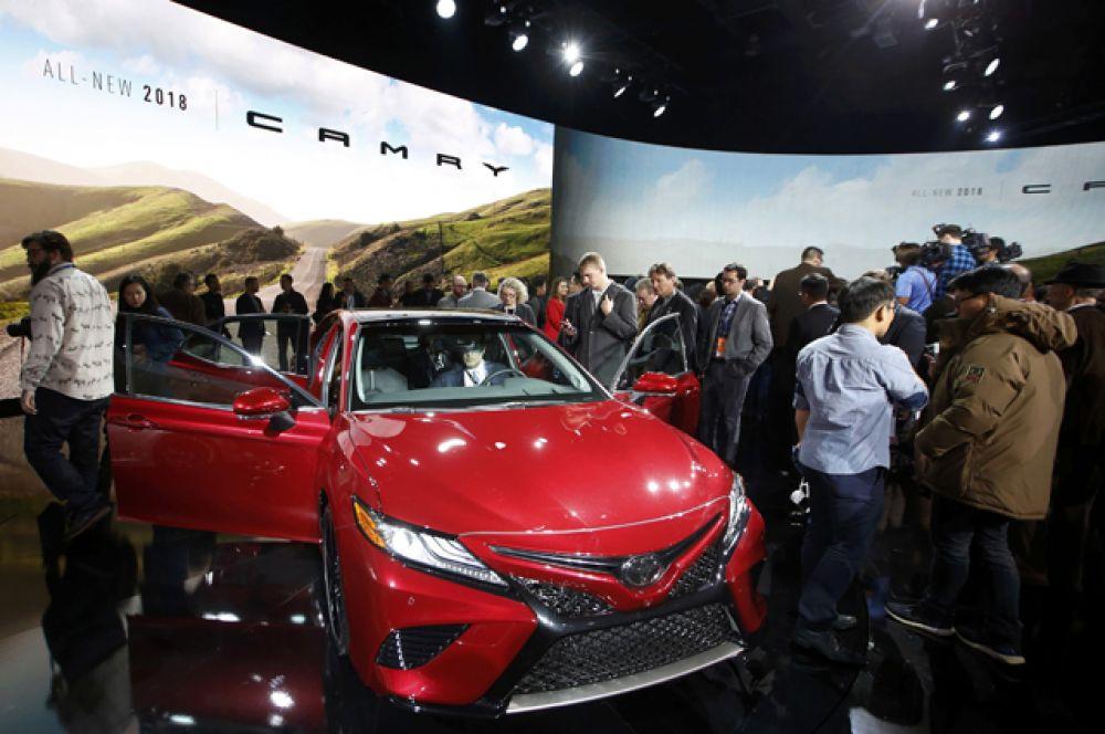 Toyota Camry XSE.