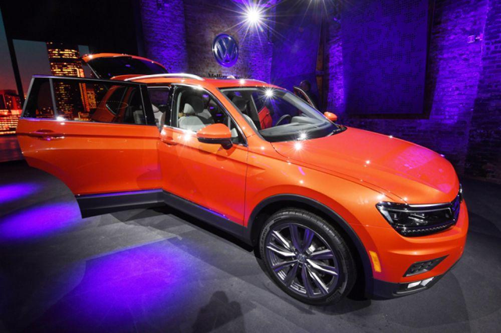 Volkswagen Tiguan Allspace.
