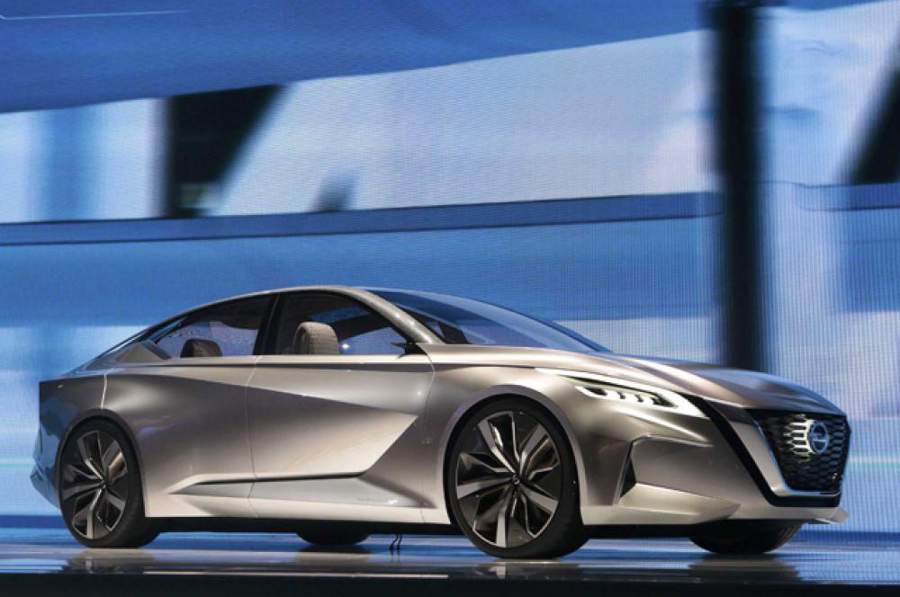 Концепт-кар Nissan Vmotion 2.0.