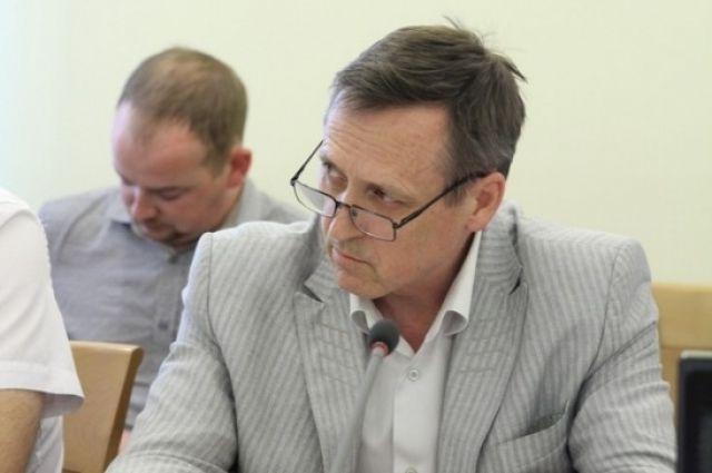 Начальник Главалтайстроя Андрей Геттих