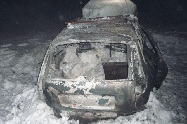 В Переволоцком районе погиб водитель загоревшейся «Лады»