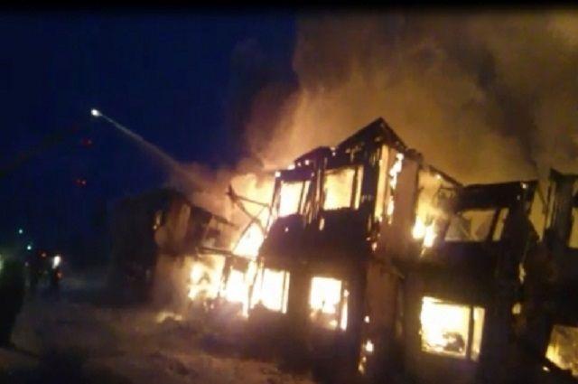 ВПангодах практически 70 человек остались без жилья из-за пожара