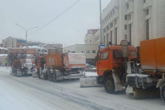 Ставьте машины так, чтобы не мешать уборке снега