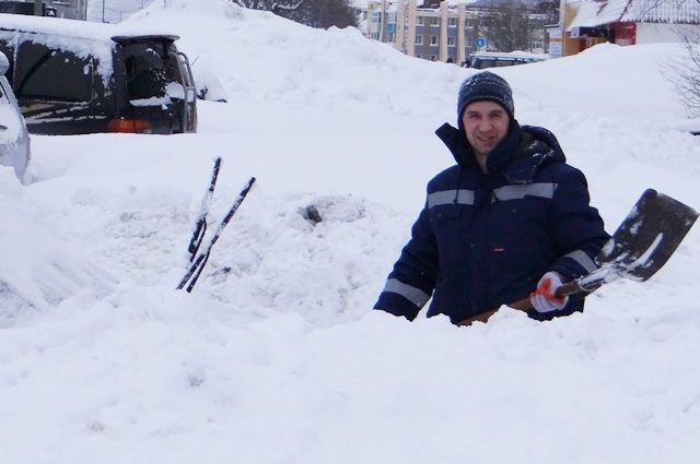 На горнозаводскую часть области в начале января обрушился мощный циклон, принёсший обильные снегопады.