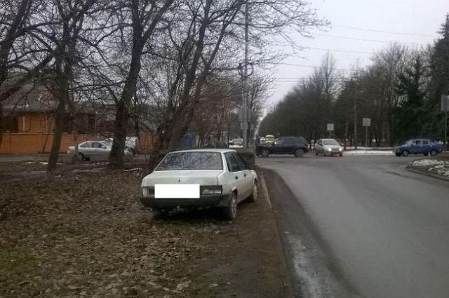 ВЕссентуках шофёр джипа спровоцировал ДТП