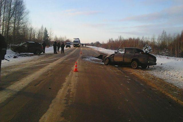 Натрассе Рязань— Касимов вДТП умер человек