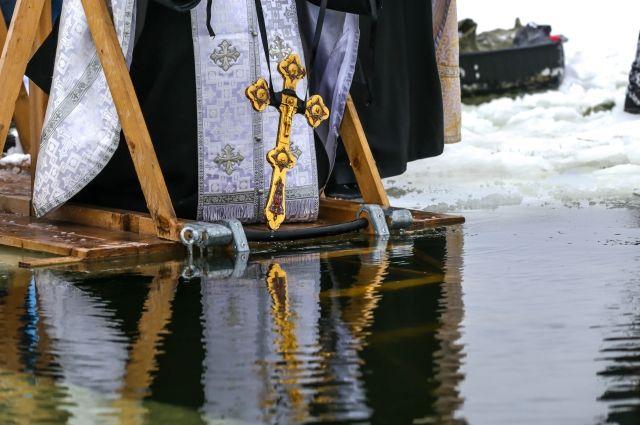 ВКургане подготовят две купели на«Бабьих песках» для крещенских омовений