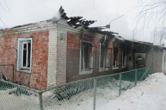 75-летняя женщина скончалась напожаре вУзловском районе
