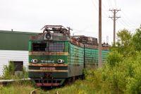 Электровоз ВЛ15-018 списан и находится на территории локомотивного депо Волховстрой в нерабочем состоянии.