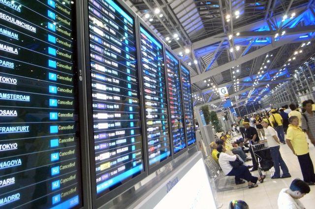 Проблема с вылетом более 100 российских туристов из Таиланда решена