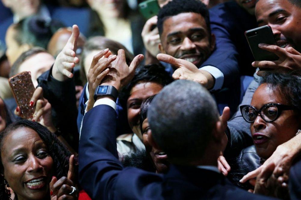 Обама во время своей прощальной речи также заявил, что никто не может сравниться по влиятельности с США в мире