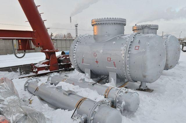 Первая партия оборудования уже приехала в Омск.