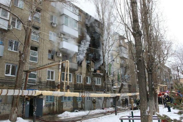 Дом в Саратове, где взорвался газ, отремонтируют за счет резервного фонда