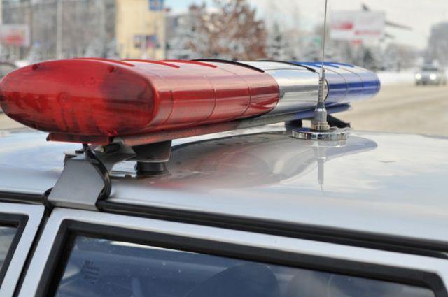 В ДТП с маршруткой разбираются полицейские.
