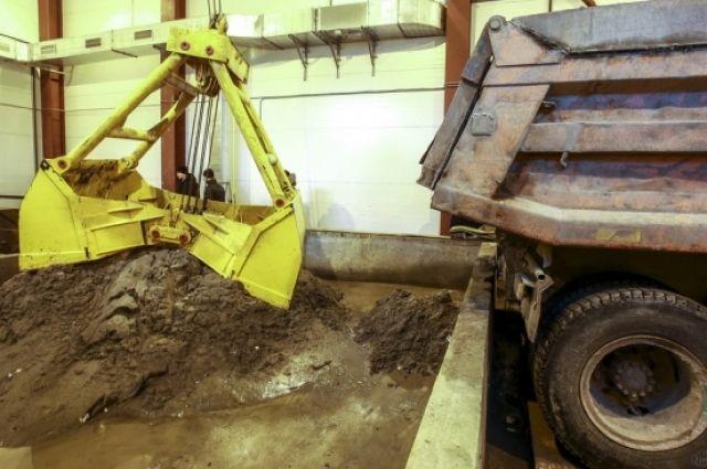 Вторая снегоплавильная установка заработала в Ленинском районе