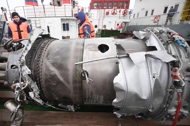 Экспертиза фрагментов разбившегося Ту-154 не нашла следов взрыва либо поражения ракетой