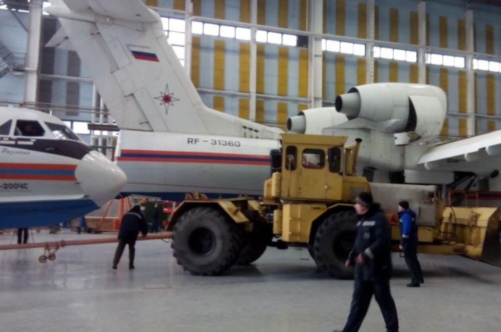 Новый Бе-200ЧС будет эксплуатироваться в составе Южного регионального центра МЧС России.